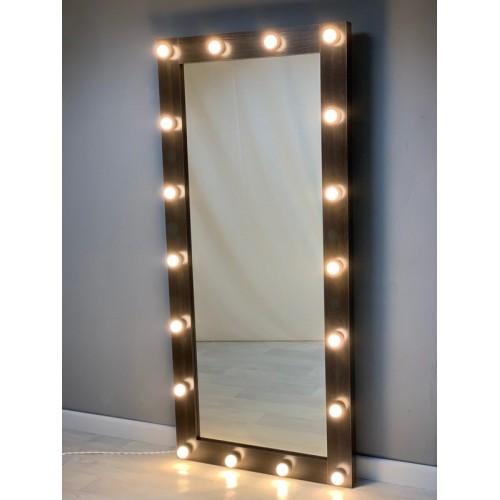 Гримерное зеркало 180х80 с подсветкой по контуру лдсп премиум
